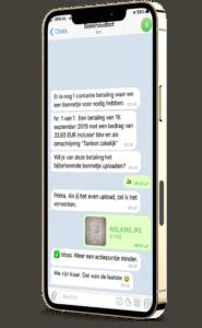 voorbeeld boekhoudbot iphone 12 pro max