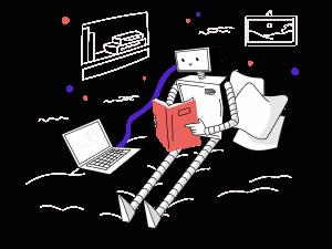 Een chatbot traint zichzelf