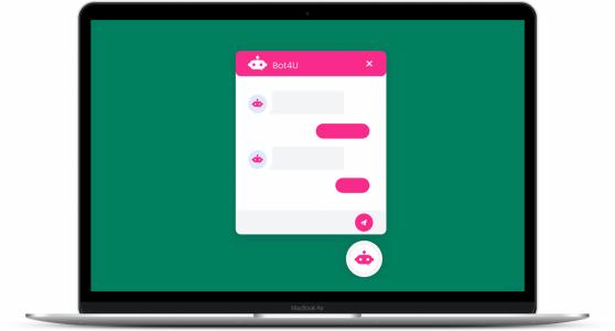 chatbot voorbeelden website